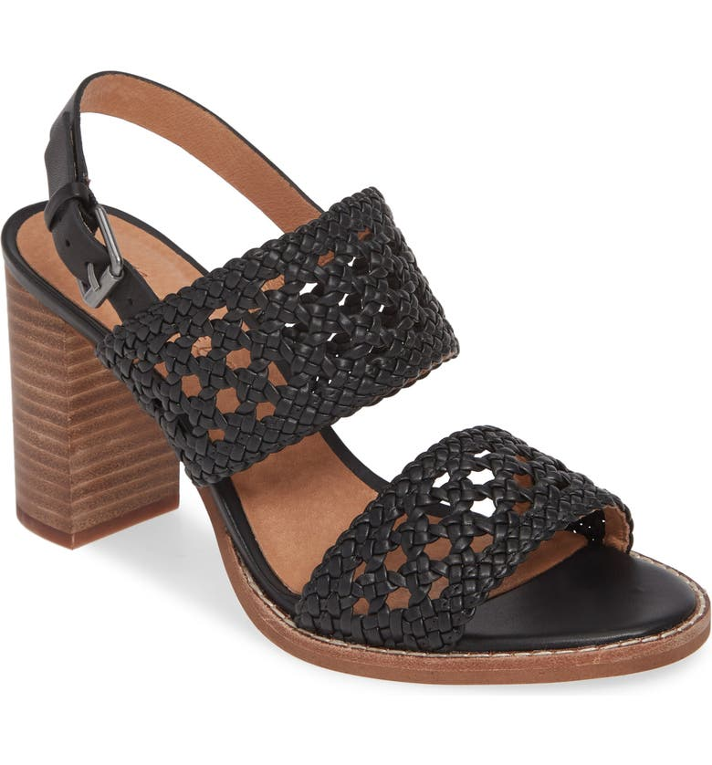MADEWELL The Basketweave Sandal, Main, color, 001