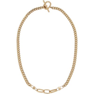 Allsaints Mixed Link Collar Necklace