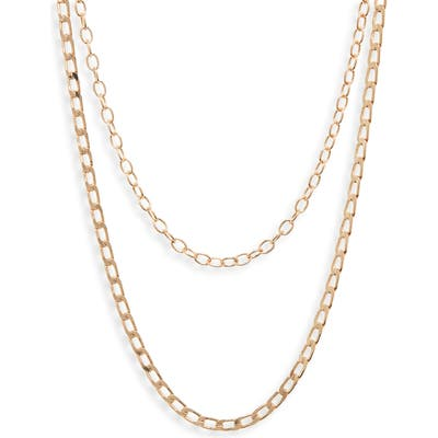 Bp. Double Layer Chain Necklace