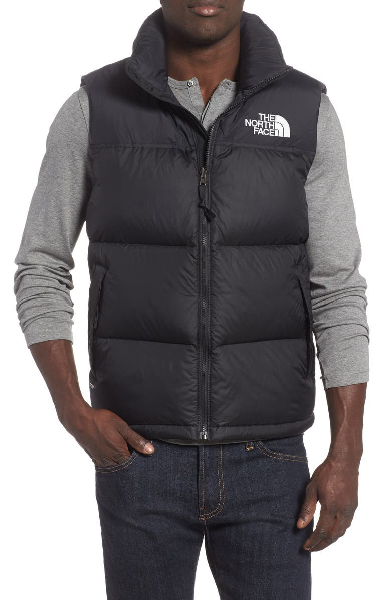 THE NORTH FACE Nuptse 1996 Packable Quilted Down Vest, Main, color, TNF BLACK