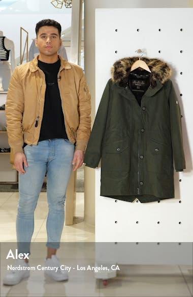 Tellin Waterproof Hooded Parka with Faux Fur Trim, sales video thumbnail