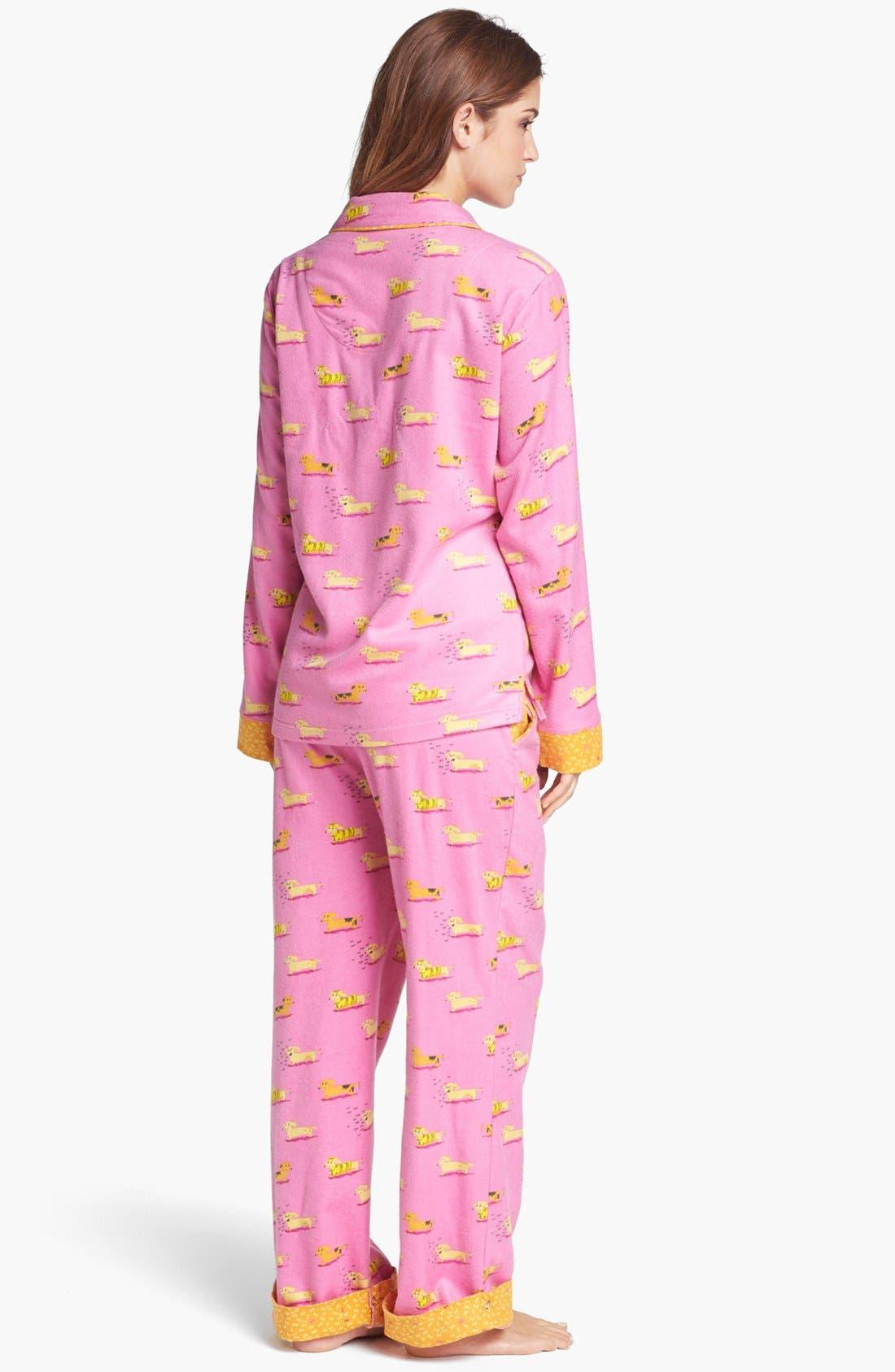 ,                             Flannel Pajamas,                             Alternate thumbnail 73, color,                             651