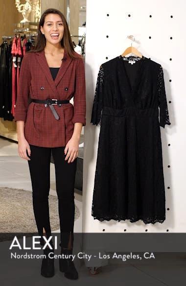 Mademoiselle Lace A-Line Dress, sales video thumbnail