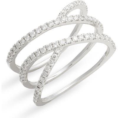 Bony Levy Bardot Collection Split Crossover Ring (Nordstrom Exclusive)