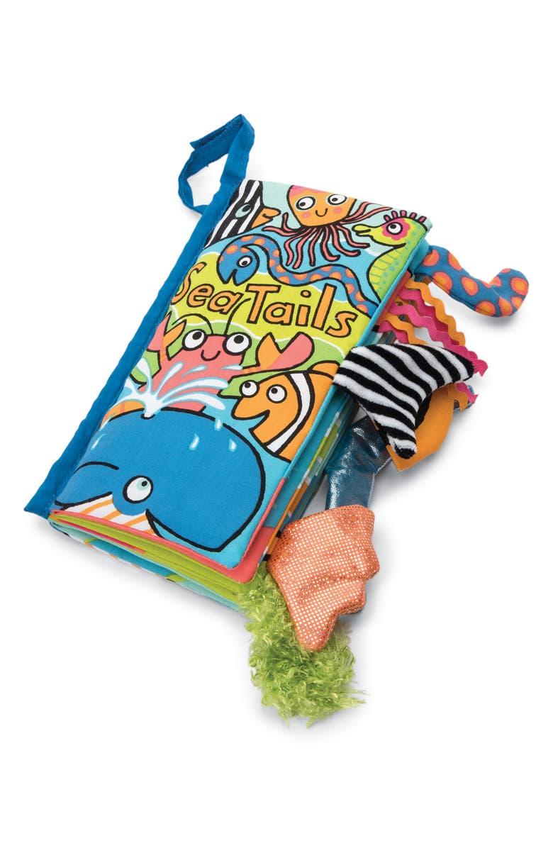 JELLYCAT 'Sea Tails' Soft Book, Main, color, 400