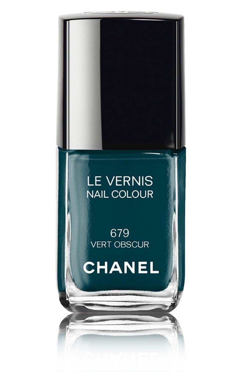 CHANEL LE VERNIS <br />Nail Colour, Main, color, 679 VERT OBSCUR