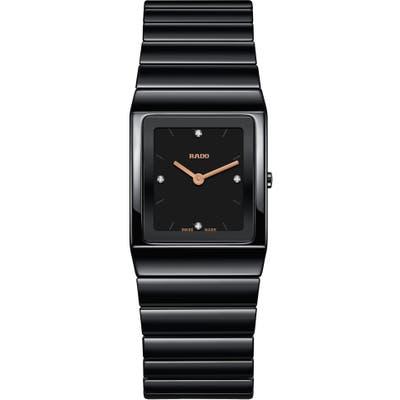 Rado Ceramica Diamond Bracelet Watch, 22.m X 31.7mm