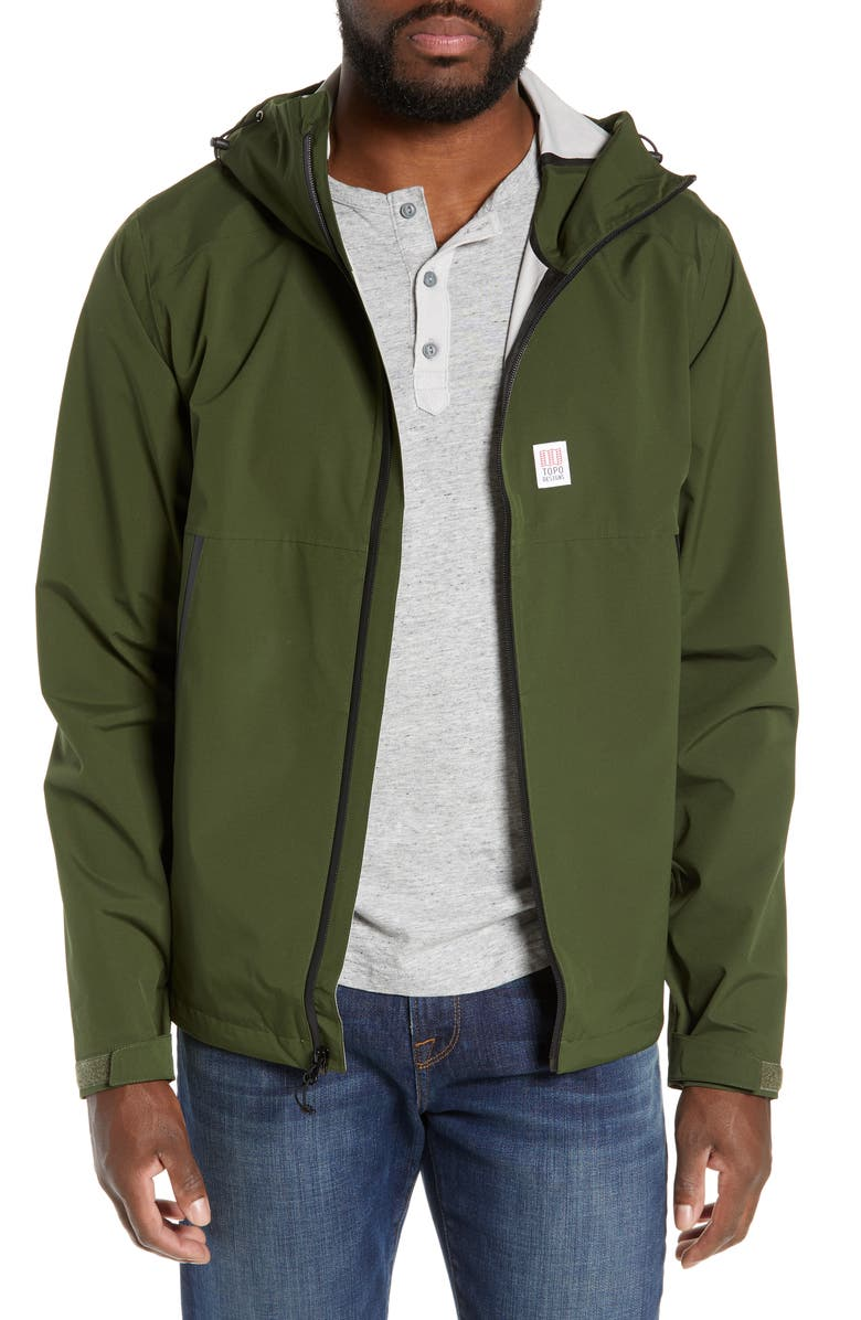 TOPO DESIGNS Global Jacket, Main, color, OLIVE