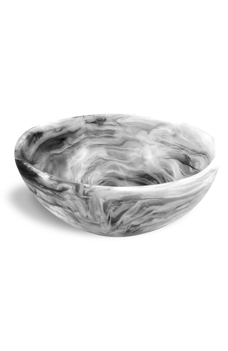 NASHI HOME Wave Bowl, Main, color, BLACK SWIRL