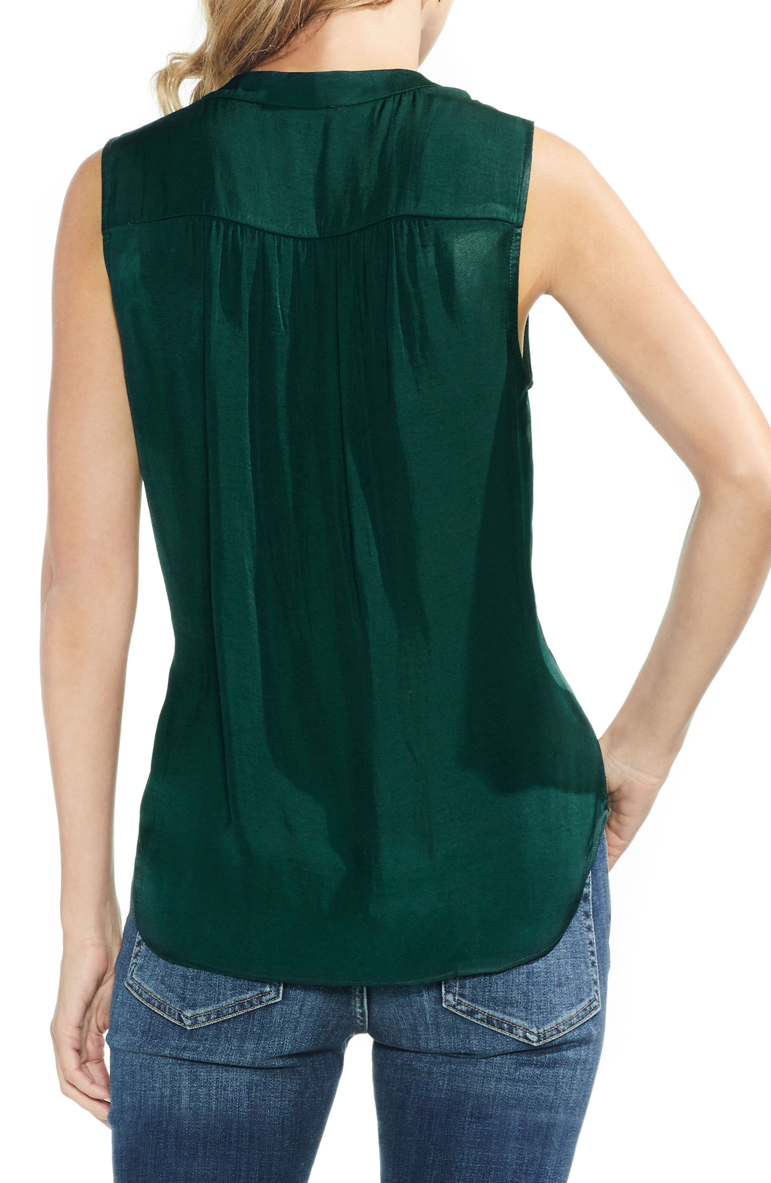 ,                             Rumpled Satin Blouse,                             Alternate thumbnail 143, color,                             313