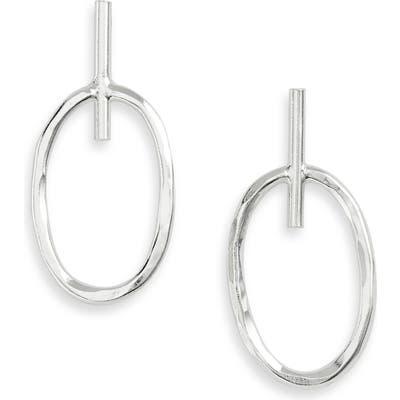 Argento Vivo St. Barths Small Oval Hoop Earrings