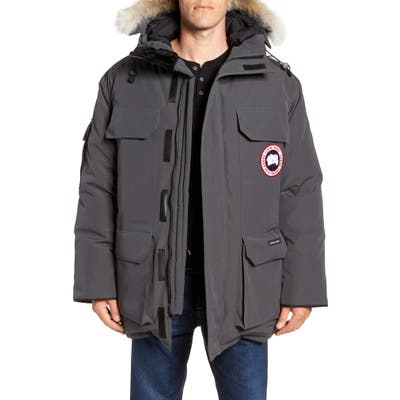 Canada Goose Expedition Down Parka With Genuine Coyote Fur Trim