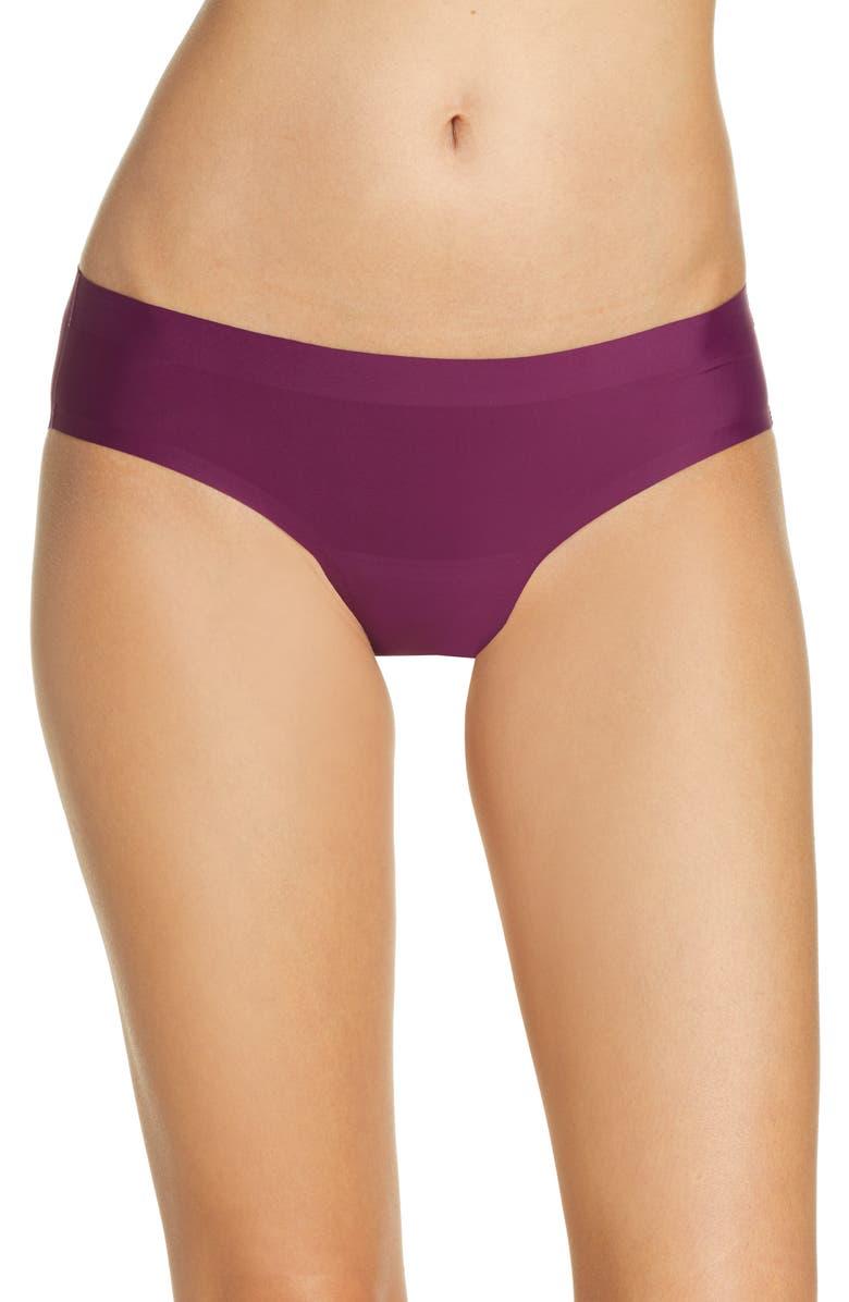 KNIX Leakproof Bikini, Main, color, PLUM VELVET