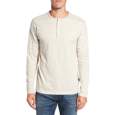 Patagonia Daily Long Sleeve Organic Cotton Henley, White