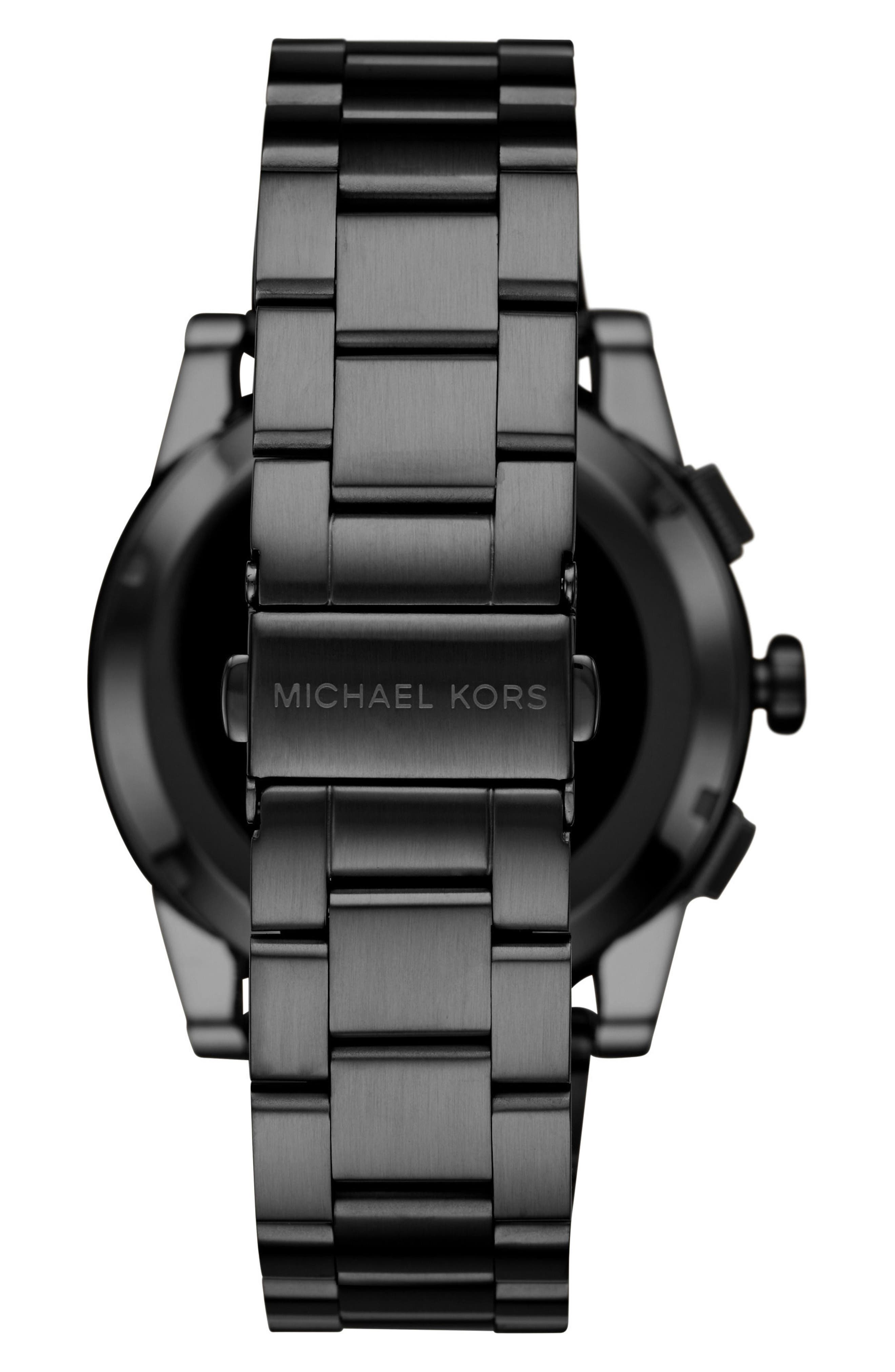 ,                             Grayson Smart Bracelet Watch, 47mm,                             Alternate thumbnail 2, color,                             BLACK