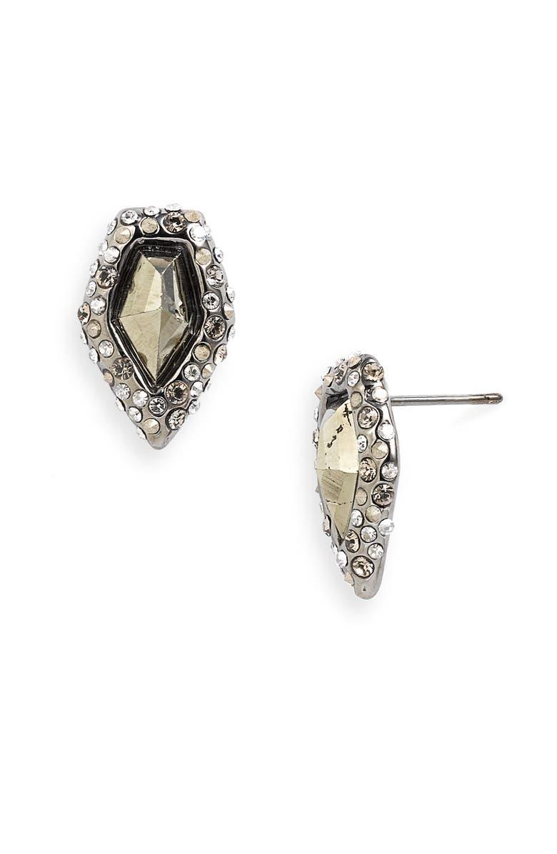 ALEXIS BITTAR 'Miss Havisham' Crystal Encrusted Stud Earrings, Main, color, 060