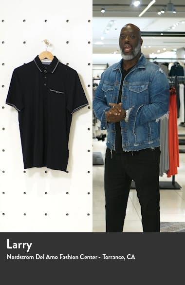 Tortila Slim Fit Tipped Pocket Polo, sales video thumbnail