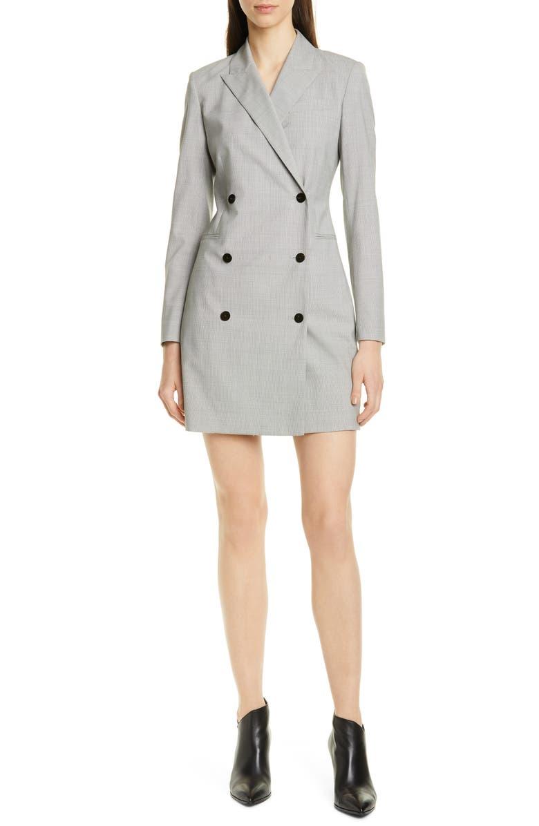 THEORY Long Sleeve Blazer Dress, Main, color, 067