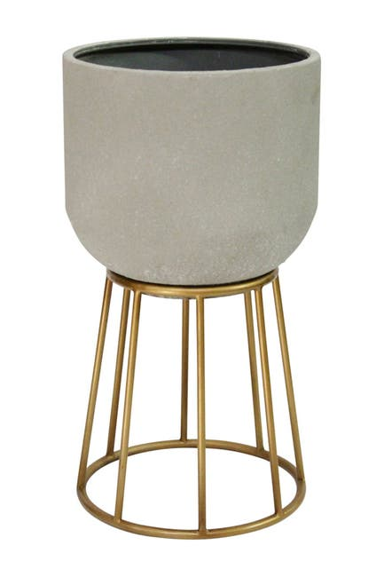 Image of Stratton Home Soho Metal Plant Stand