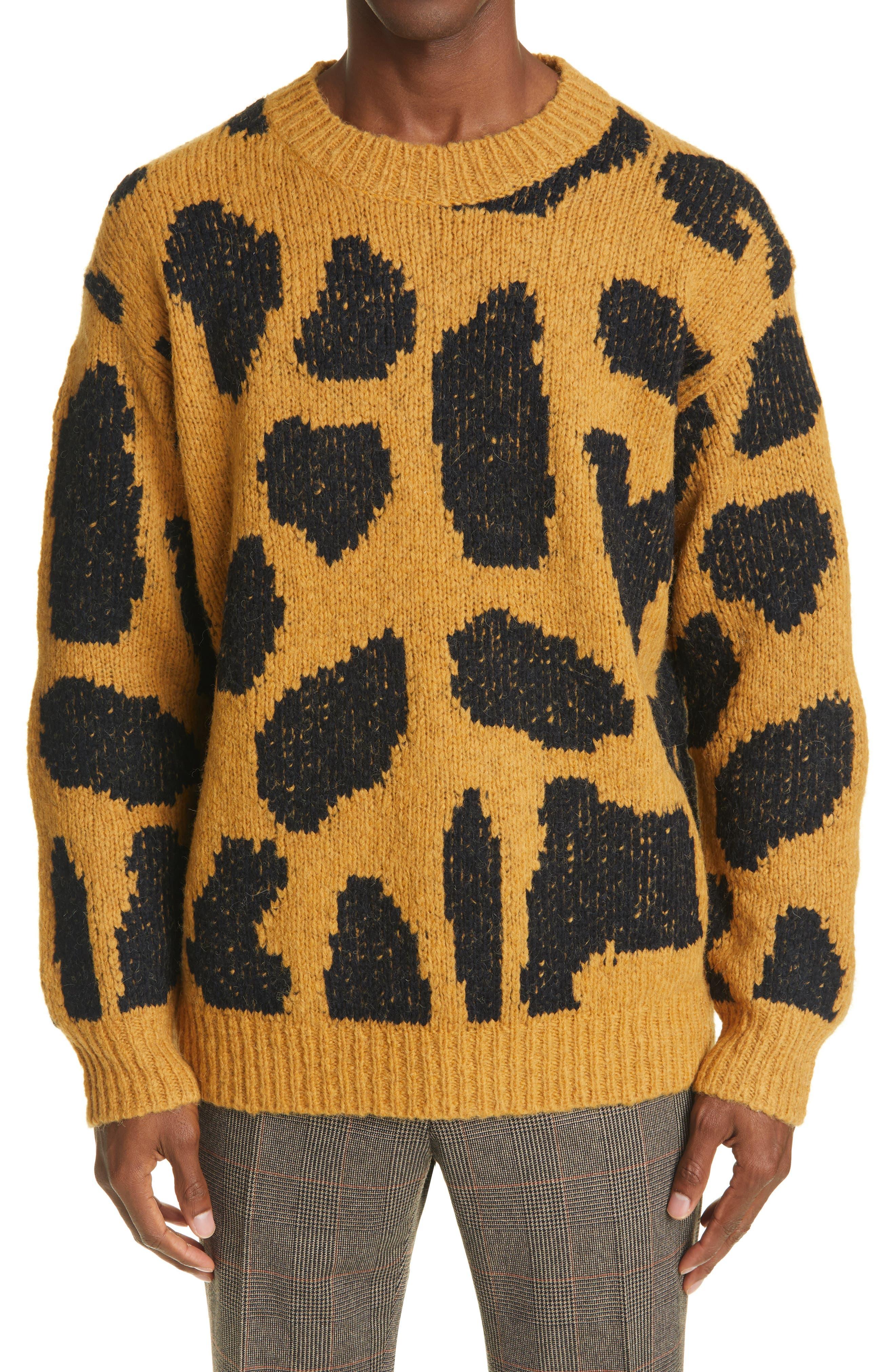 Image of DRIES VAN NOTEN Maddox Merino Wool Blend Sweater