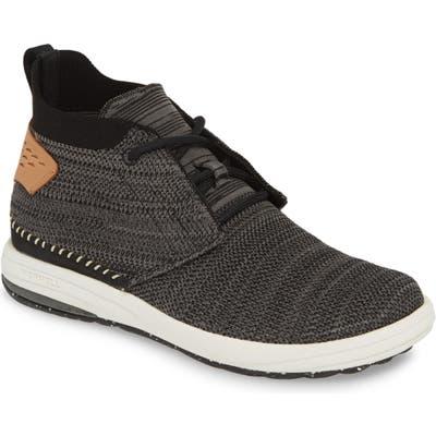 Merrell Knit Mid Sneaker, Black