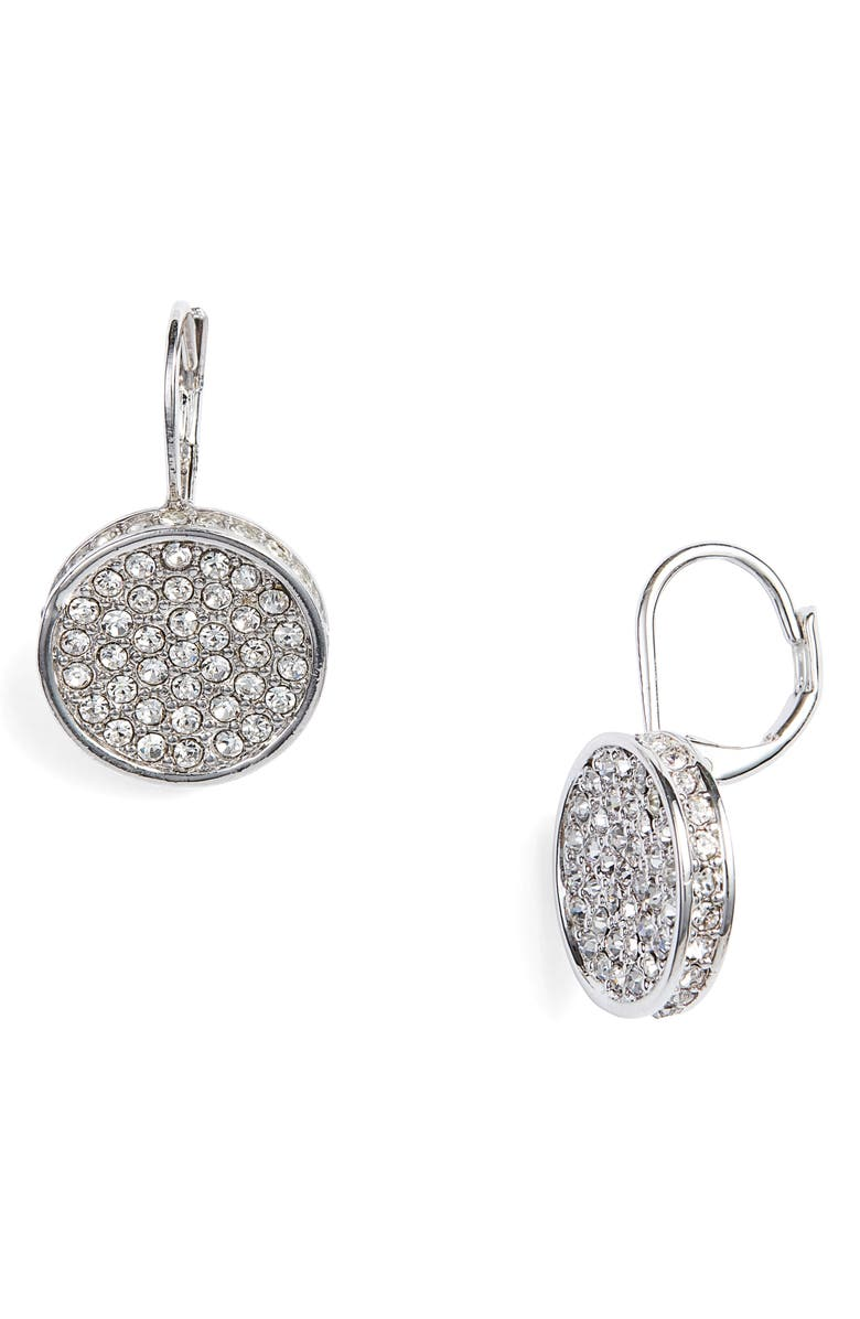 VINCE CAMUTO Crystal Glitter Earrings, Main, color, 041