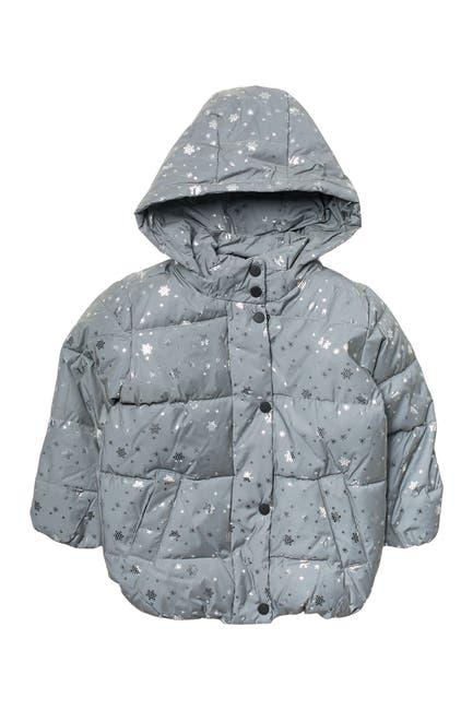 Image of Urban Republic Reflective Puffer Coat