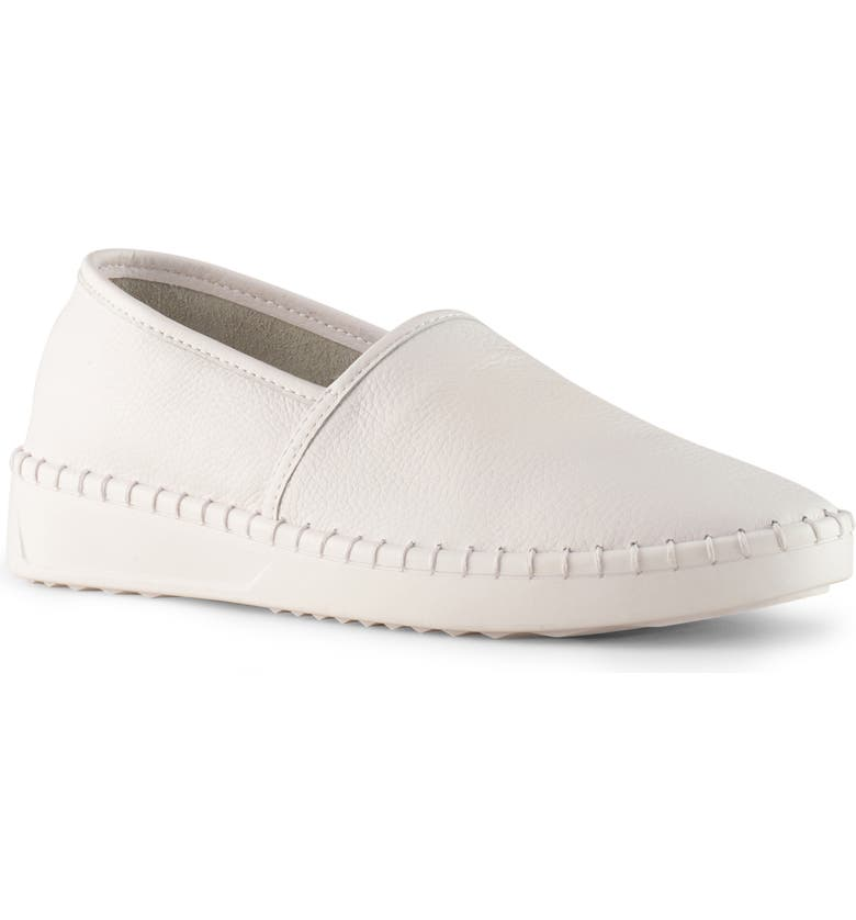 COUGAR Chico Slip-On Sneaker, Main, color, WHITE LEATHER