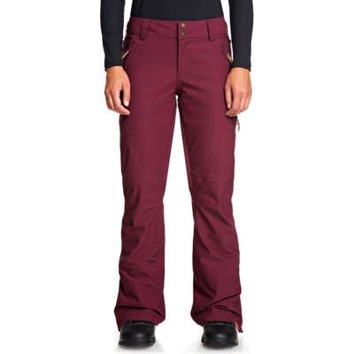 Roxy Cabin Snow Pants, Purple