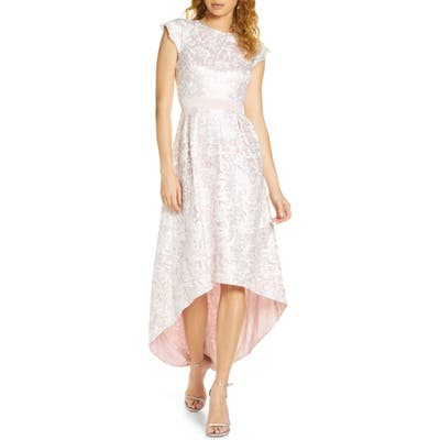 Chi Chi London Levaeh High/low Dress, Pink