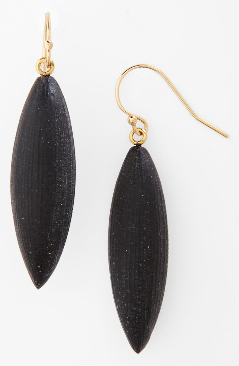 ALEXIS BITTAR 'Lucite<sup>®</sup> - Neo Bohemian' Small Sliver Earrings, Main, color, 001