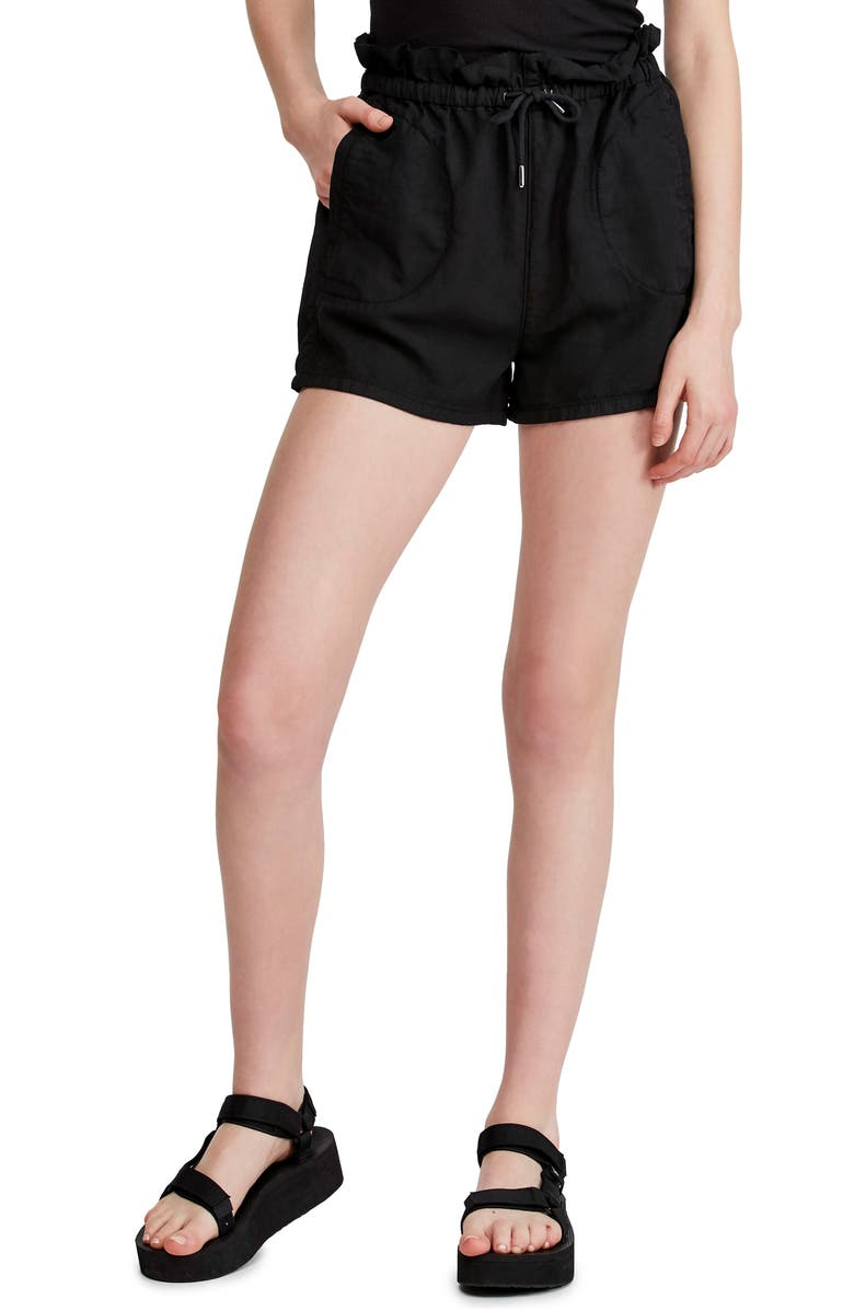 Urban Outfitters Paperbag Waist Shorts by Bdg