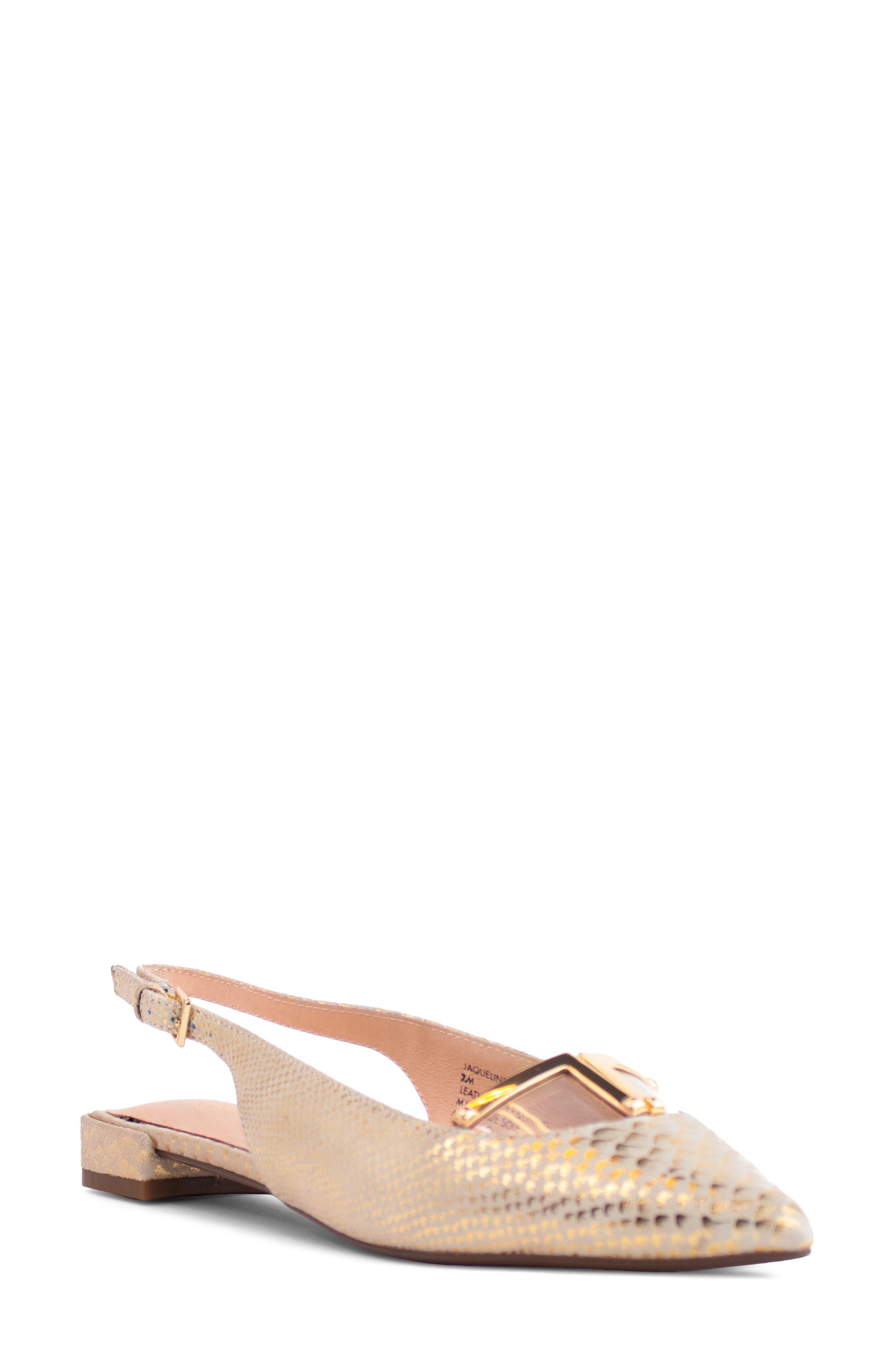 Jacqueline Slingback Pointed Toe Flat