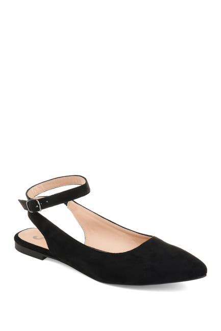 Image of JOURNEE Collection Preea Ankle Strap Flat
