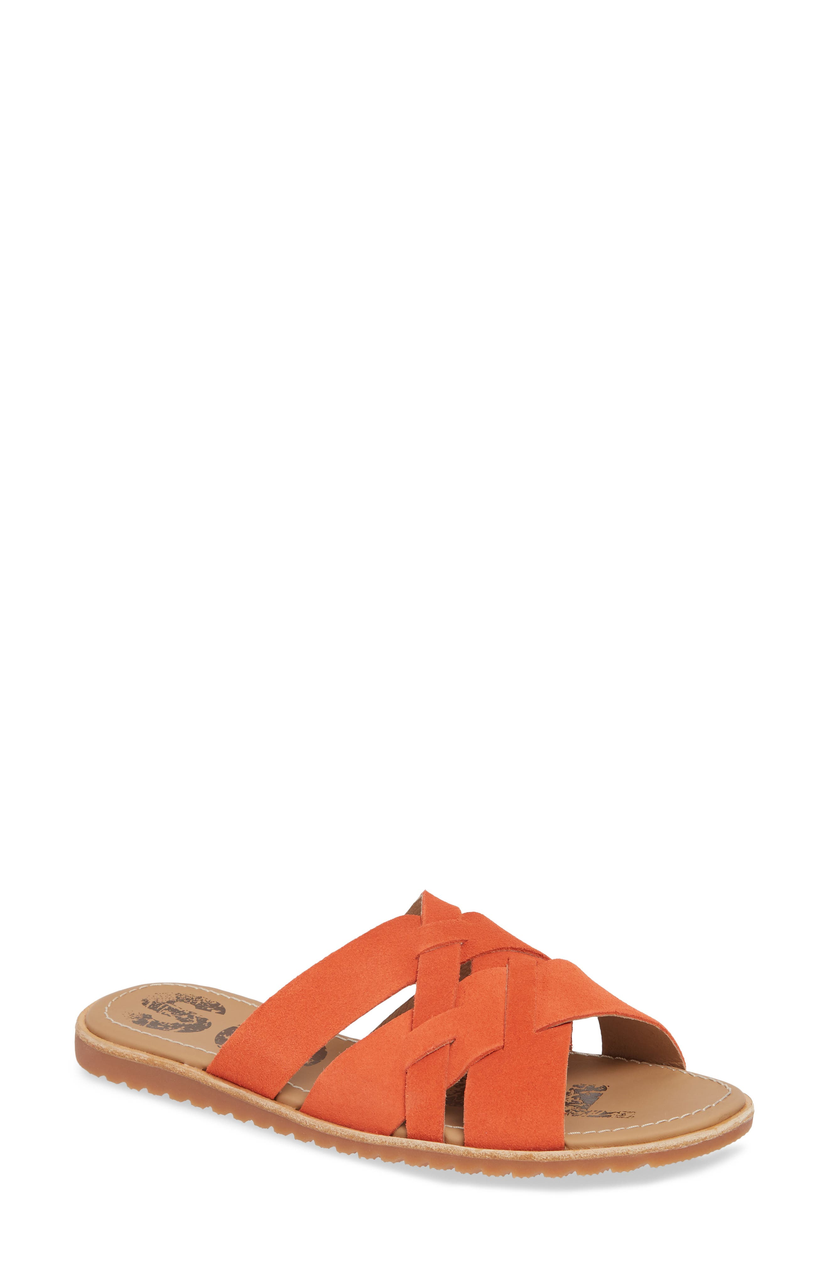 Sorel Ella Slide Sandal, Red