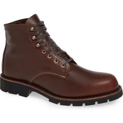 Wolverine 1,000-Mile Arctic Waterproof Plain Toe Boot, Brown