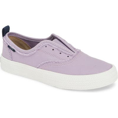 Sperry Crest Rope Laceless Sneaker- Purple