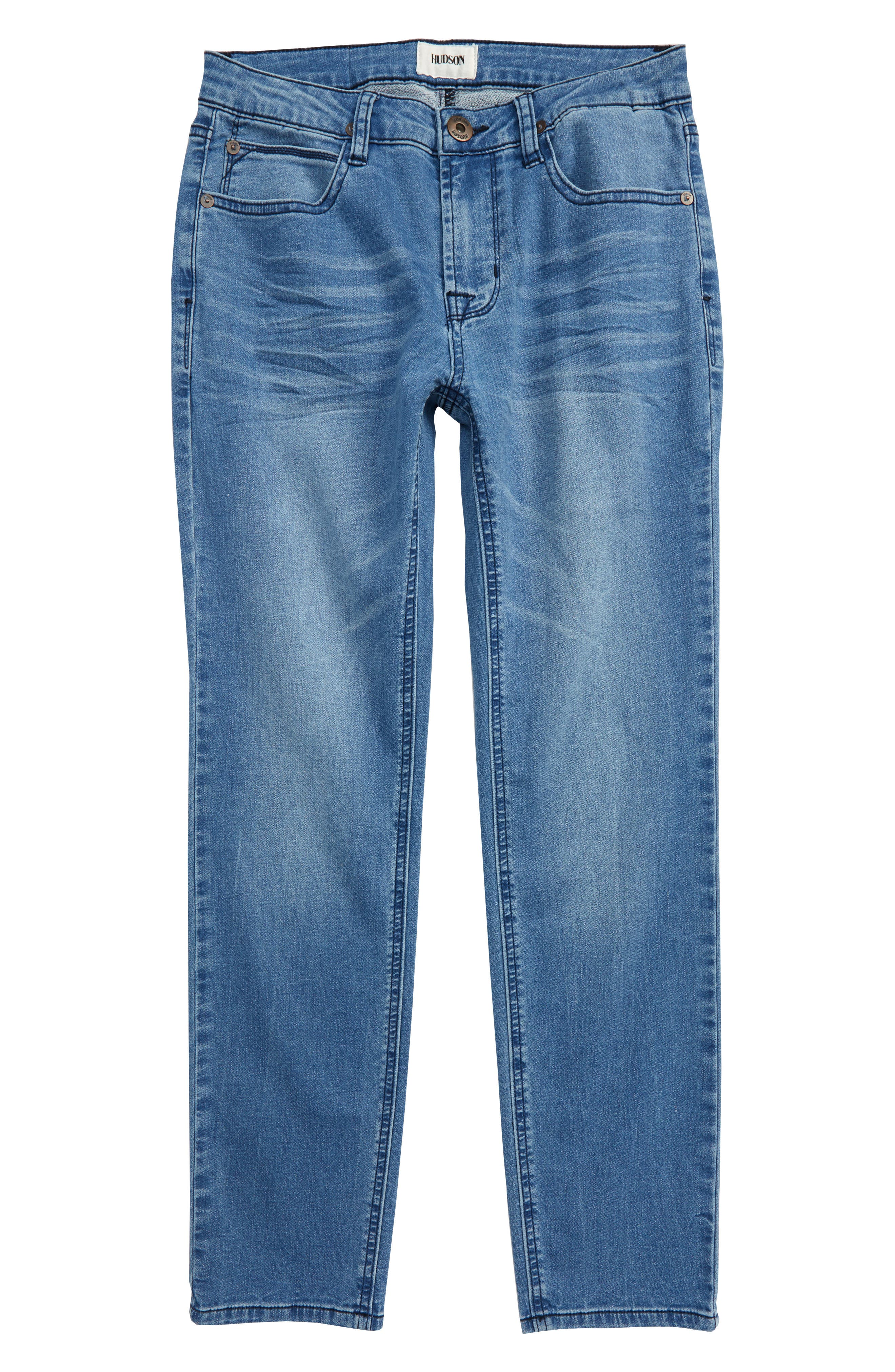 Boys Hudson Jeans Jagger Slim Straight Leg Jeans Size 16  Blue