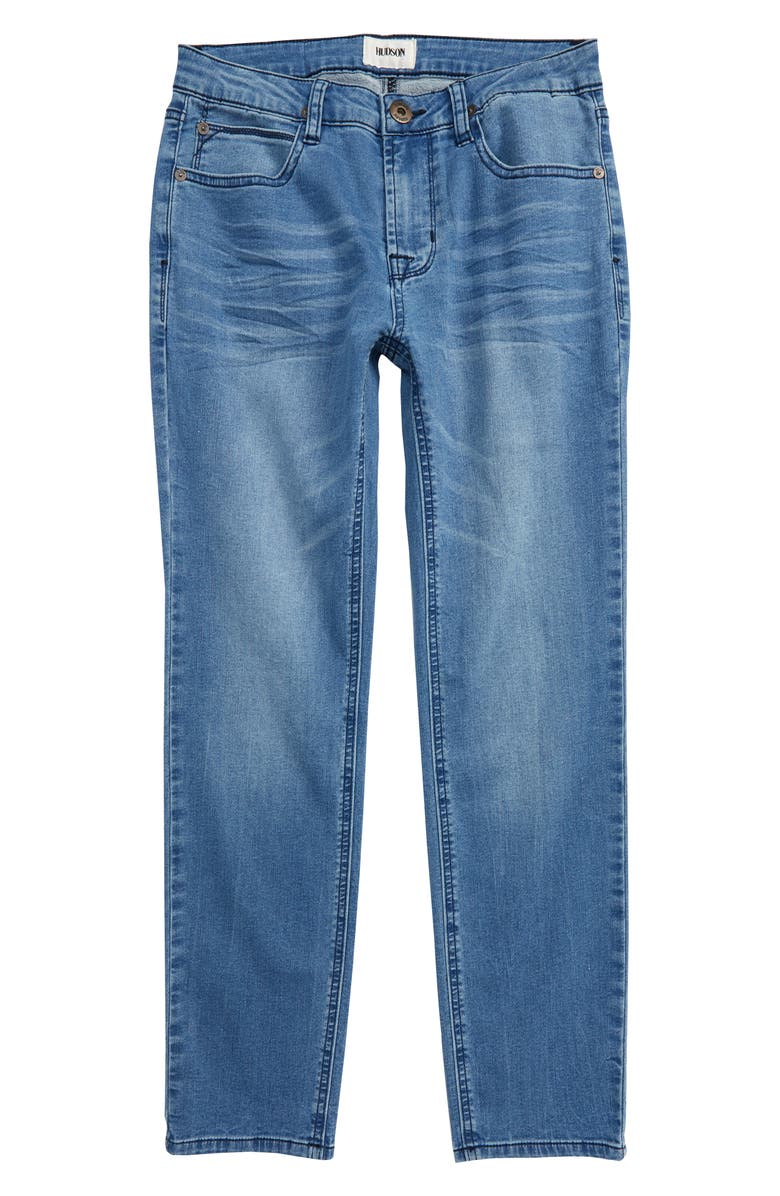 HUDSON JEANS Jagger Slim Straight Leg Jeans, Main, color, LIGHTENING BLUE