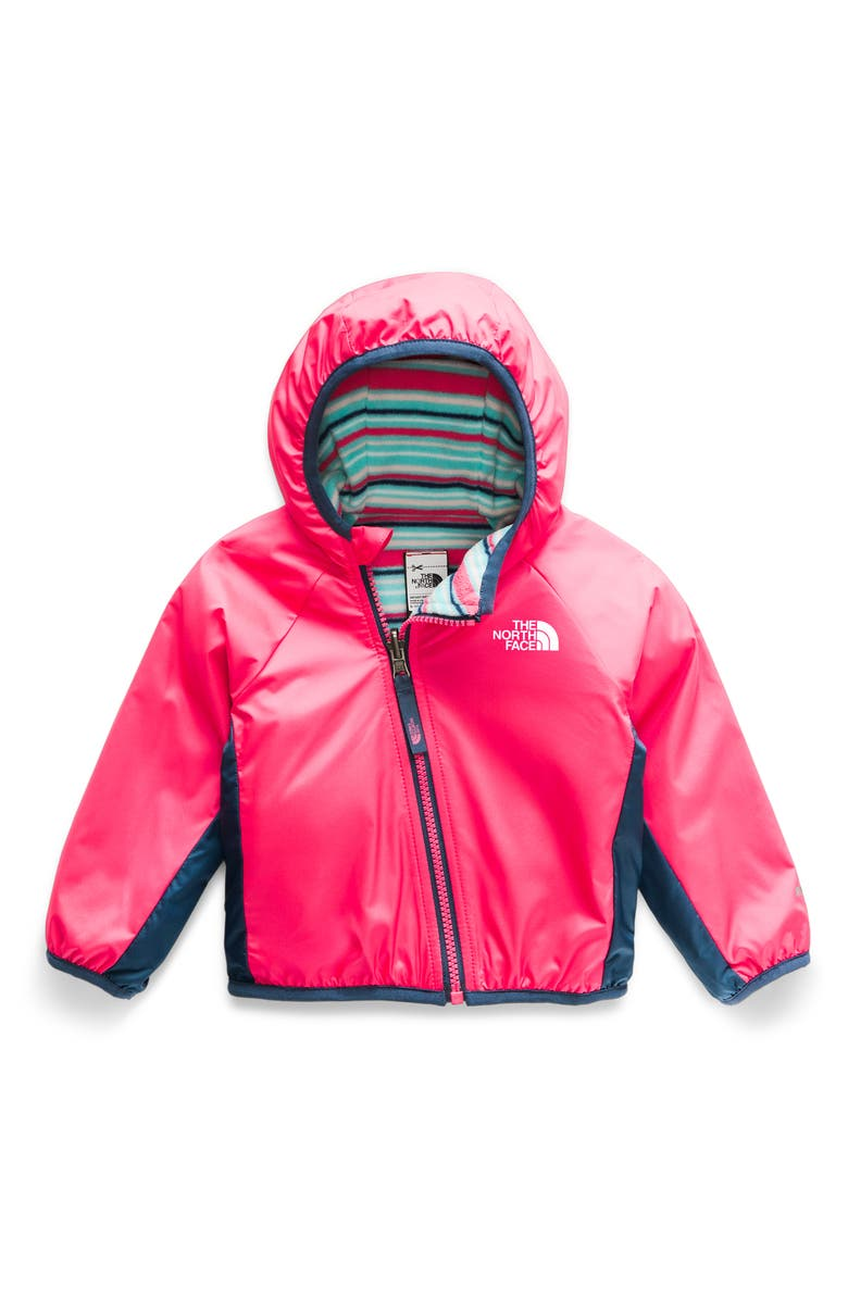 THE NORTH FACE Breezeway Reversible Water Repellent Jacket, Main, color, ATOMIC PINK