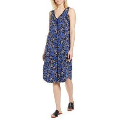 Tommy Bahama Forte Floral Shift Dress, Blue