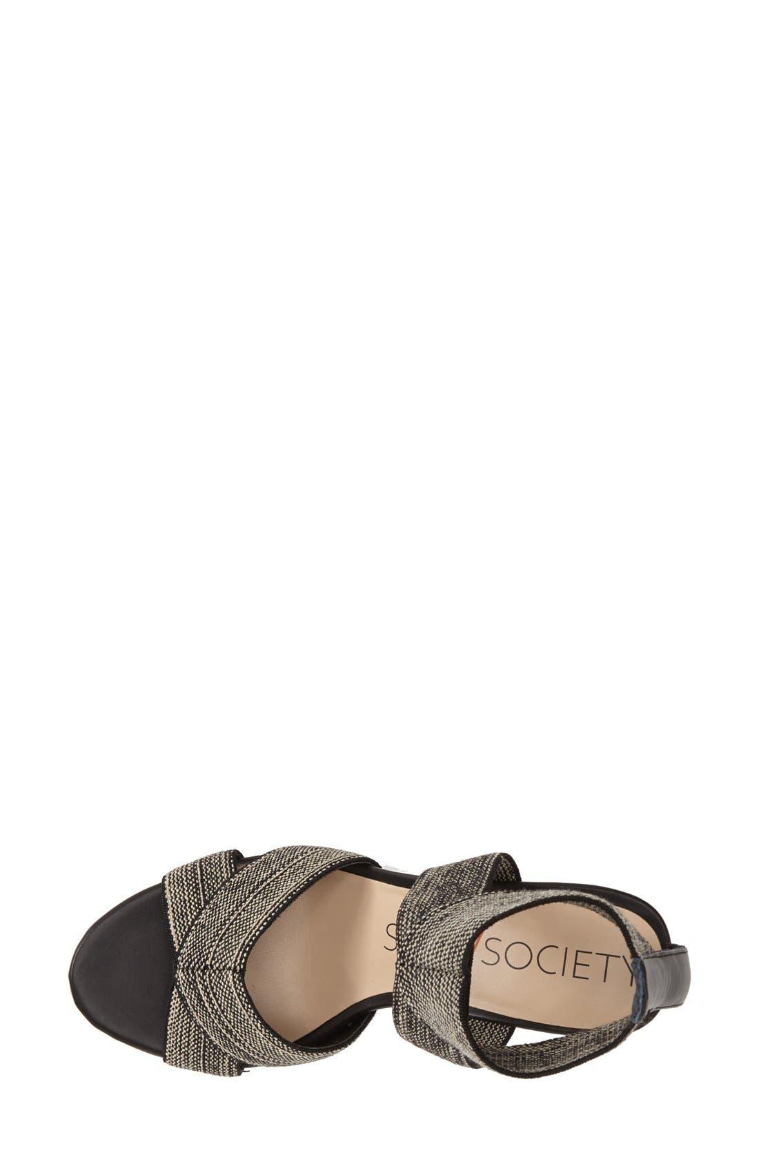 ,                             'Joesy' Block Heel Sandal,                             Alternate thumbnail 7, color,                             002