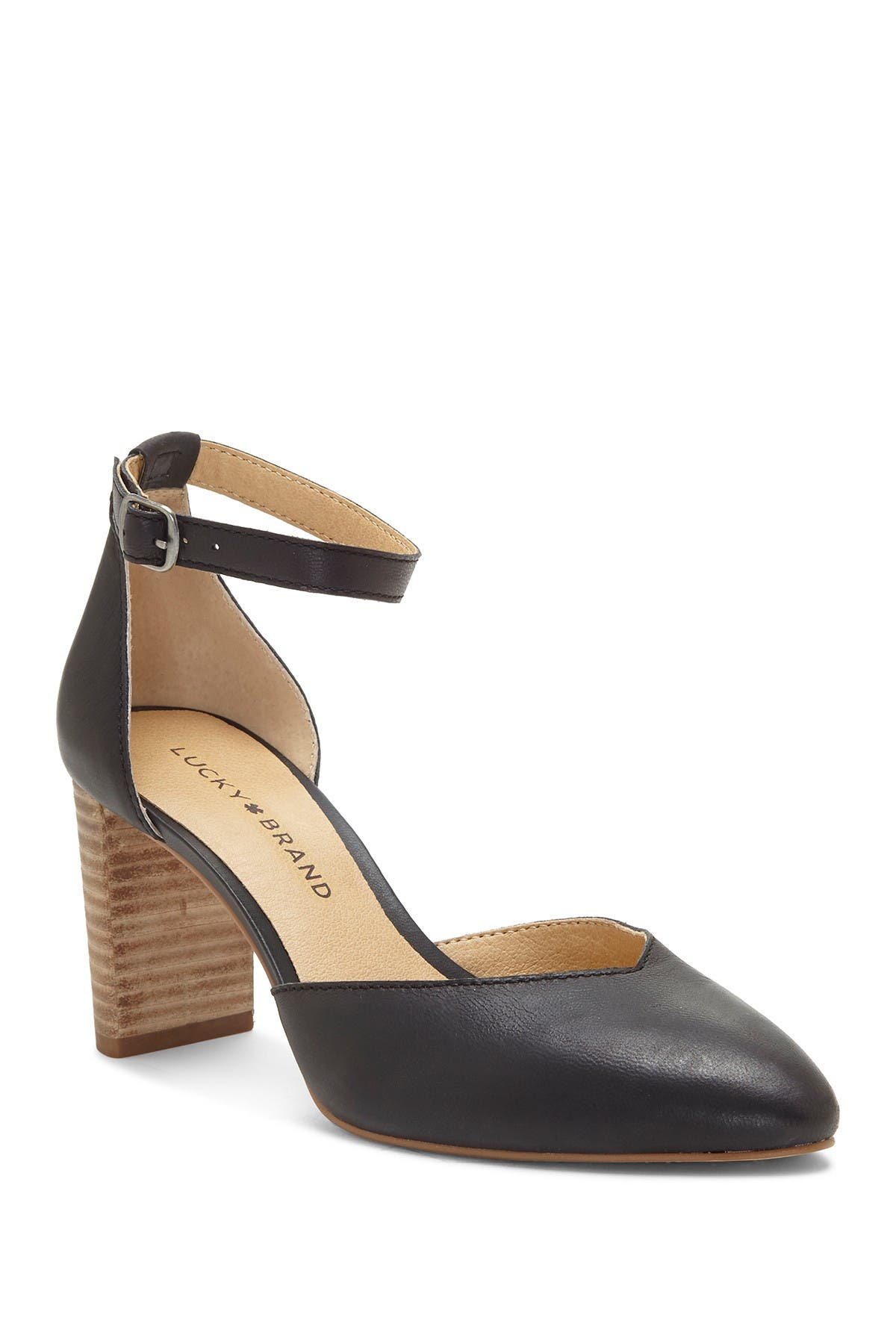 Image of Lucky Brand Mariannah Stack Heel Pump