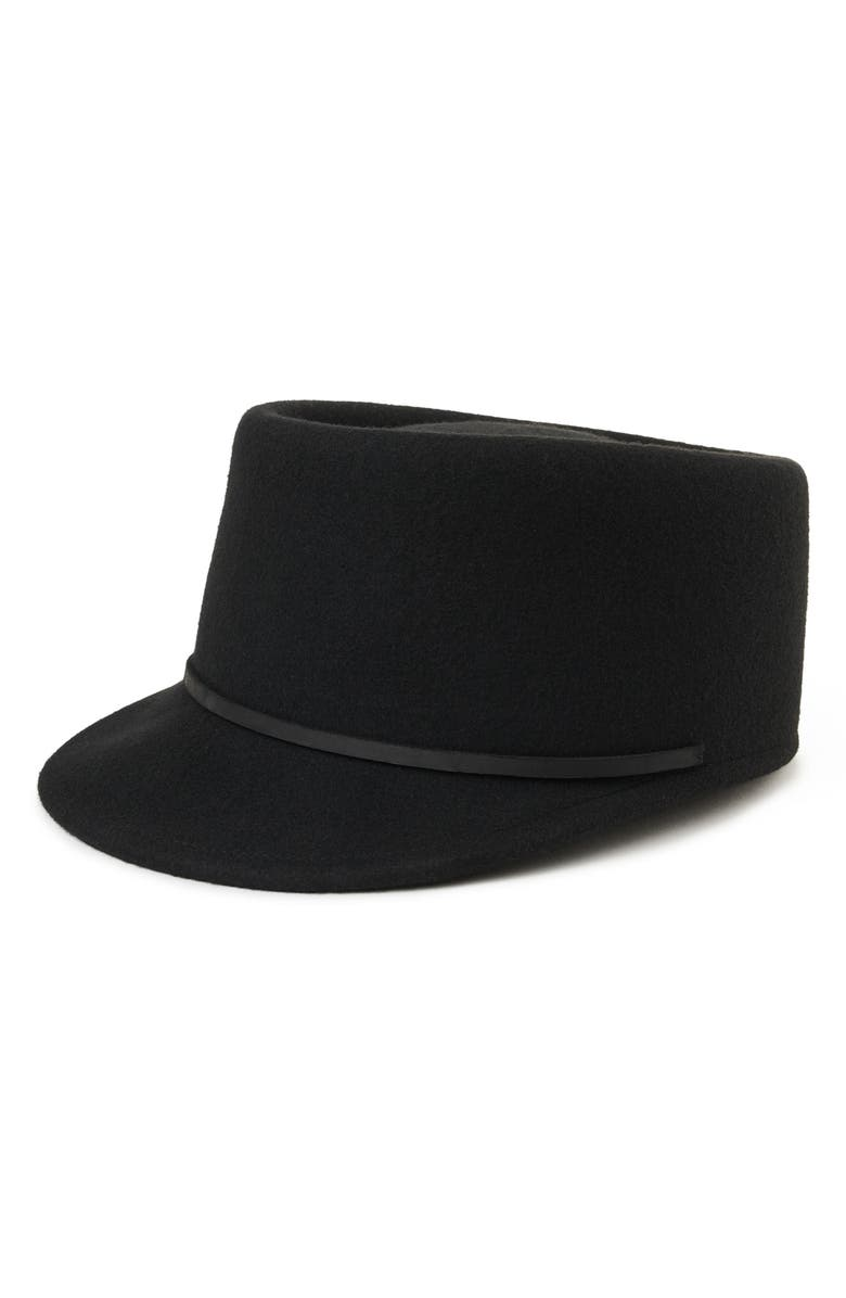 BRIXTON Colvin II Felted Wool Cap, Main, color, 001