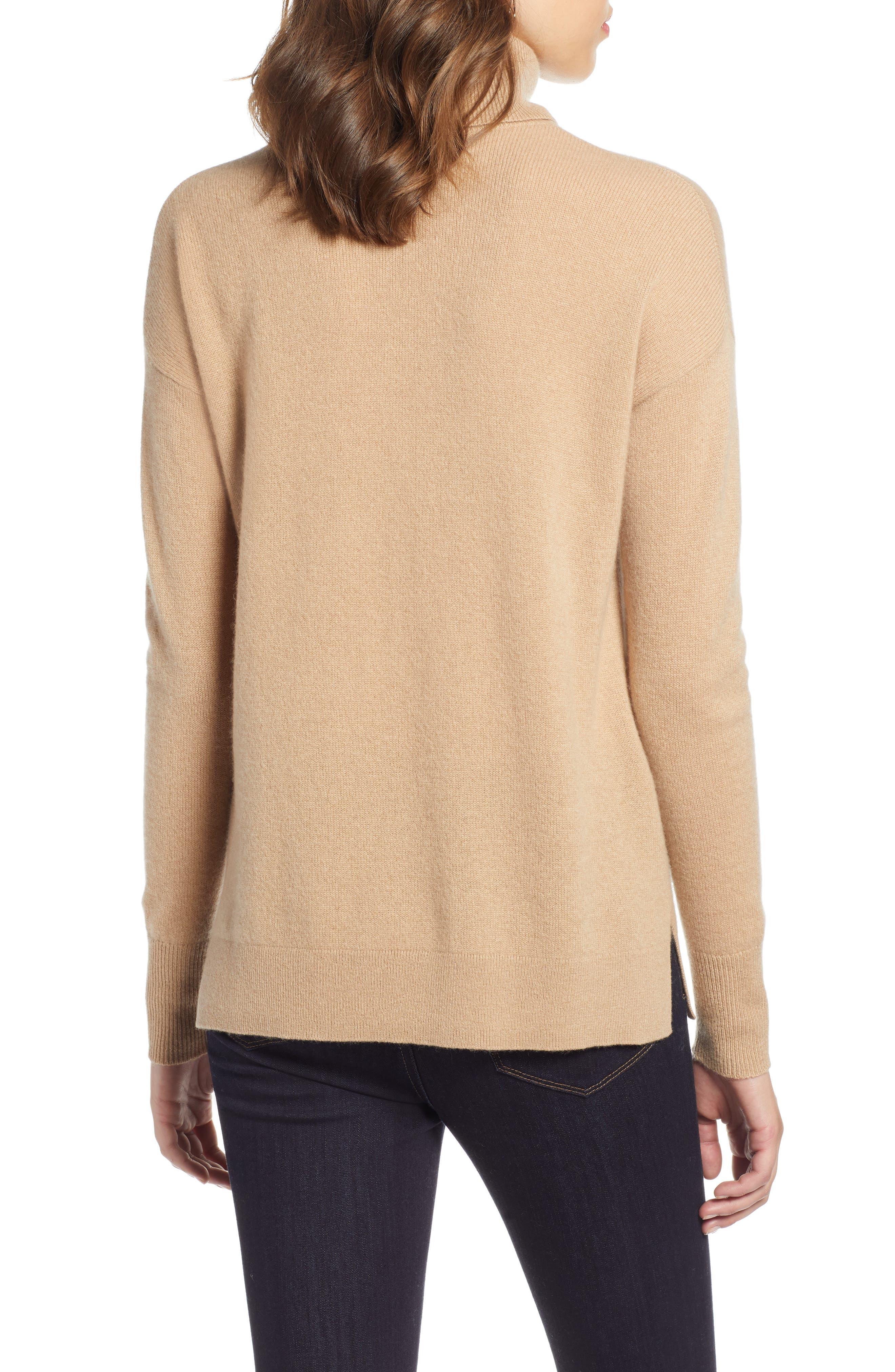 ,                             Cashmere Turtleneck Sweater,                             Alternate thumbnail 20, color,                             230