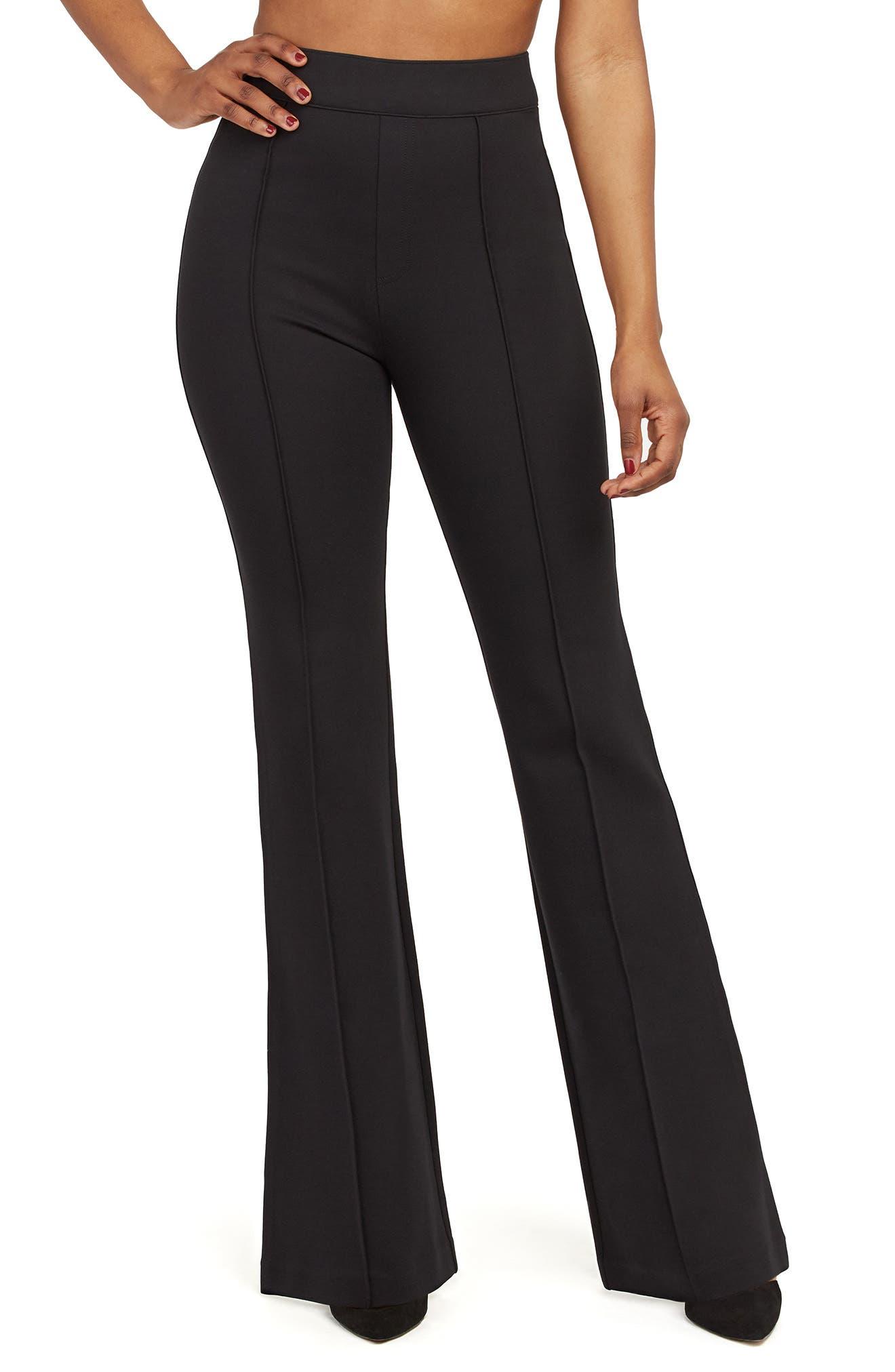 Plus Women's Spanx Flare Ponte Pants