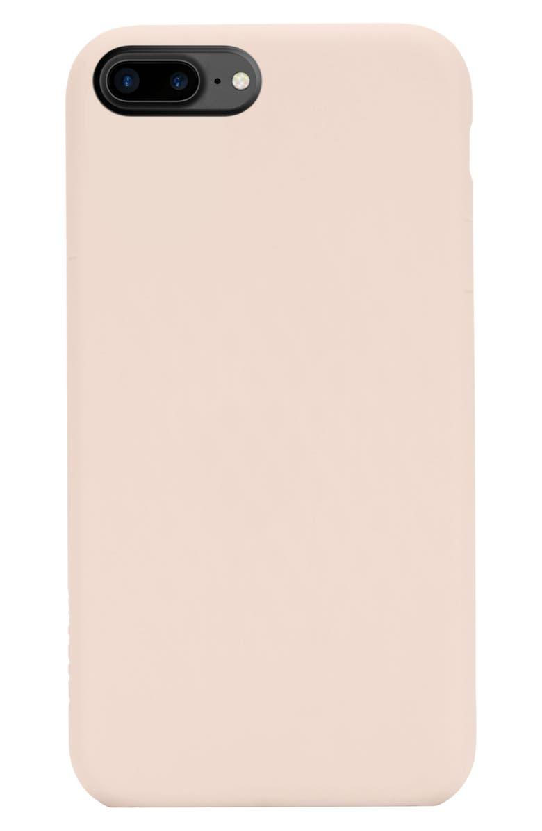 INCASE DESIGNS Facet iPhone 7 Plus/8 Plus Case, Main, color, ROSE GOLD