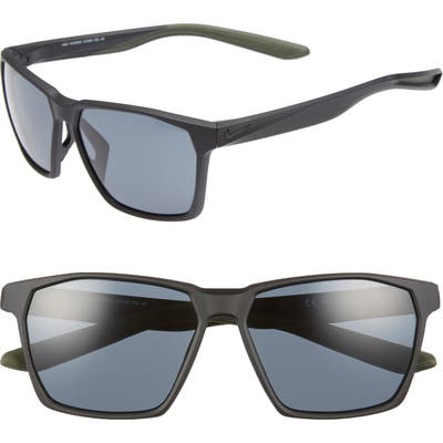 Nike Maverick 5m Sunglasses - Matte Black/ Grey