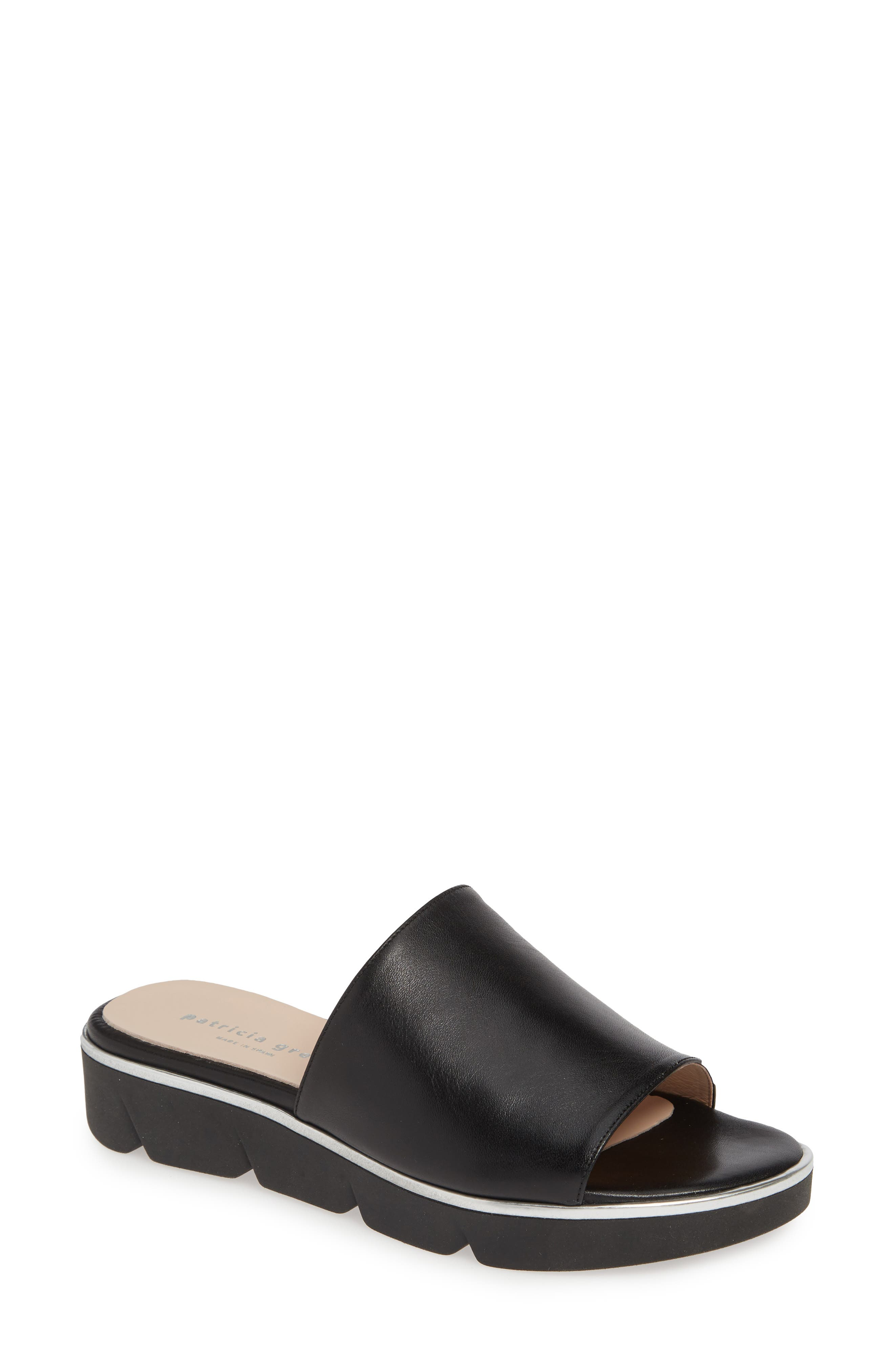 Patricia Green Callie Slide Sandal, Black