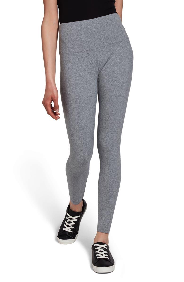 LYSSÉ Flattering Leggings, Main, color, GREY MELANGE